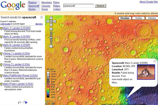 Google Mars Good
